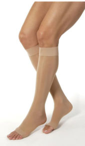 JOBST® UltraSheer OPEN TOE Knee Highs