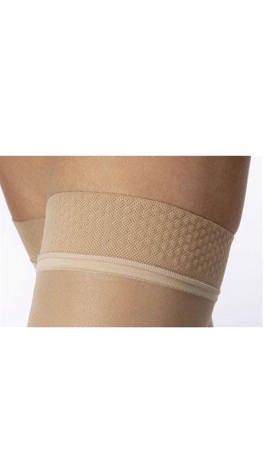 JOBST® UltraSheer CLOSED TOE Thigh Highs w/Dot Band