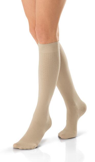 Jobst® soSoft 8-15 mmHg Brocade Pattern Knee Highs